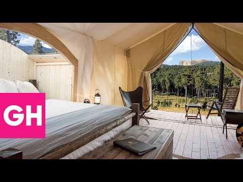 Glamping Getaways for You and Your Mom | GH