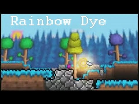 Let's Play Terraria: Rainbow Dye [How To]