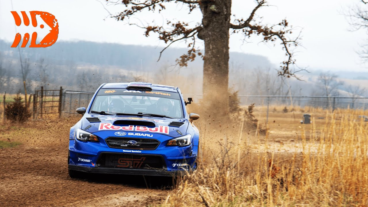 Ken Block, Travis Pastrana, and Barry McKenna Battling for 1st - 100 Acre Wood Rally 2021