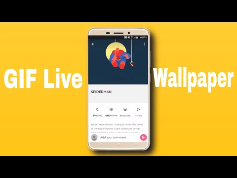 How to set GIF as wallpaper on Android !