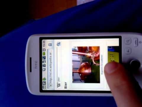 HTC Magic android 2.2
