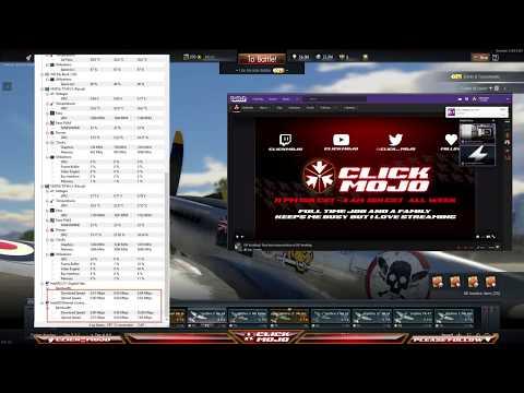 ISP throttling speeds? Real time livestreaming test