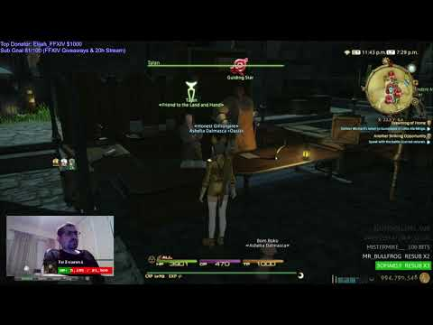 FFXIV - Desynthesis of 134 Main Hands for Mastercraft Demimateria