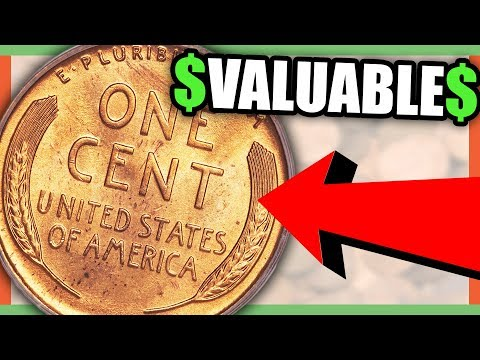 WHEAT PENNIES WORTH MONEY - RARE PENNIES TO LOOK FOR IN YOUR POCKET CHANGE!!
