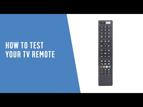 How To Test Your TV Remote