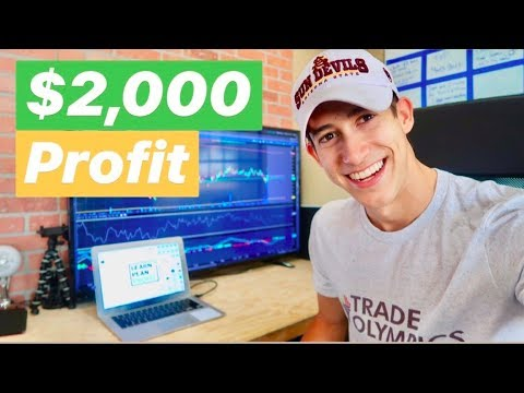How I Made $2,000 Profit Day Trading June 2018