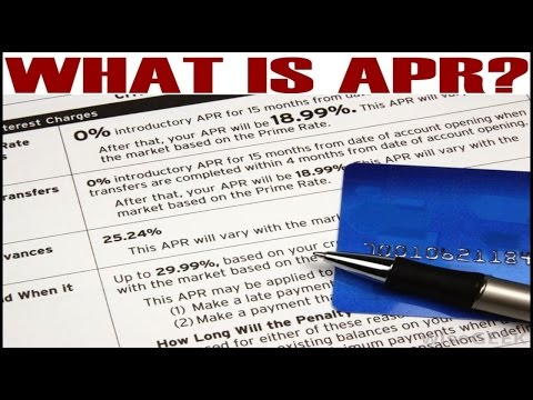 What is APR (Annual Percentage Rate)