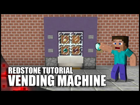 Minecraft: Working Vending Machine!