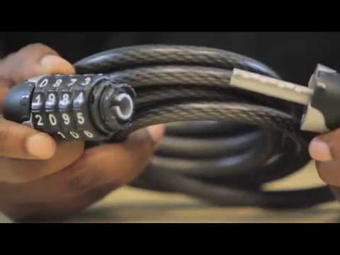 How to reset a Kryptonite Combo Cable