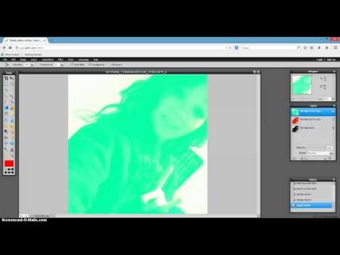 How to make 3D edits on Pixlr.com