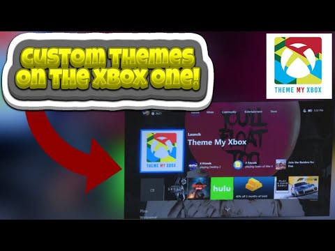 [NEW] How To Get Custom Animated/Static Themes/Wallpapers On Xbox One! FREE NO PC/PHONE/USB!