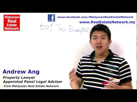 Property Investment Malaysia Legal Tips No 14 - What is Eligible for 50% Discount?