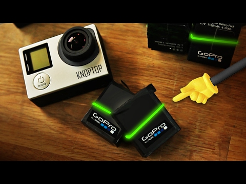 GoPro HERO5 - Battery Bands! HACK!