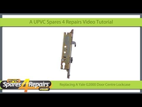 Replacing a Yale G2000 Upvc Door Lockcase