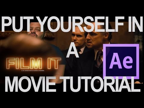 Put Yourself in a Movie After Effects Tutorial