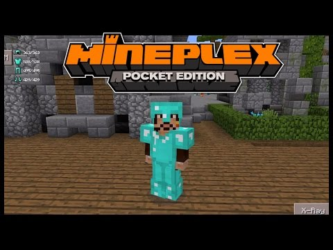 How to Hack Full Diamond gear in Mineplex pocket edition  using Toolbox | MCPE ( minecraft pe )