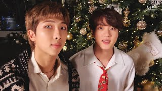 BTS (방탄소년단) Sing 'Dynamite' with me (Holiday Remix) - Jin & RM