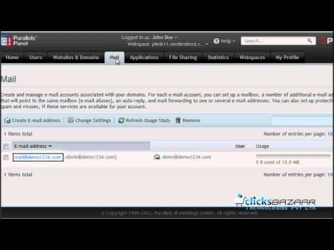 How to enable auto reply for an e-mail address in Plesk