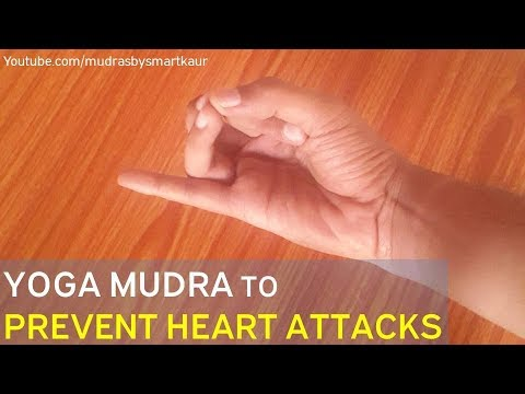 Apan Vayu Mudra | Yoga mudra to prevent heart attacks