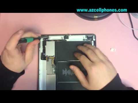 Apple iPad 2 Repair Repair - Headphone Jack & Front Camera Removal