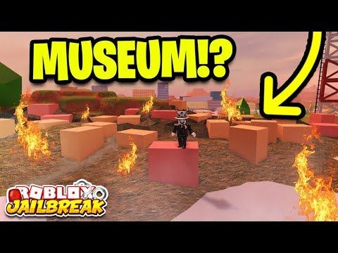 Roblox Jailbreak BUILDING DESTROYED! MUSEUM ROBBERY SOON! | Jailbreak New Mini Update!