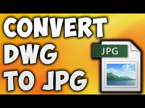 How To Convert DWG To JPG Online - Best DWG To JPG Converter [BEGINNER'S TUTORIAL]