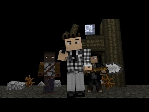 (minecraft animaton ) fallout new Vegas intro