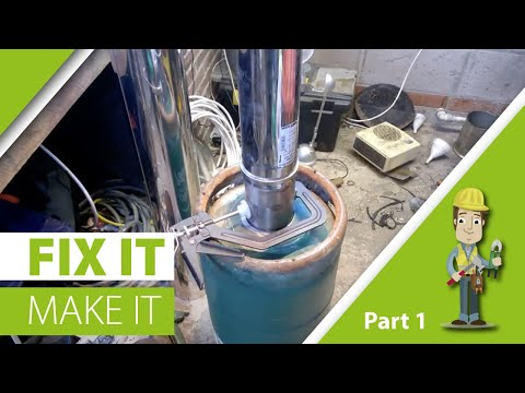 wood burner/heater.part 1 how to build an efficient wood burner from a gas cylinder
