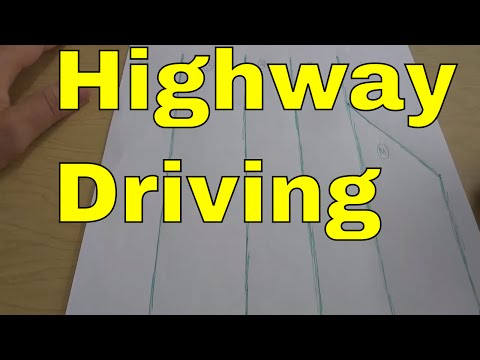 Highway Driving-Which Lane To Use-Driving Lesson
