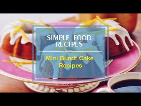 Mini Bundt Cake Recipes