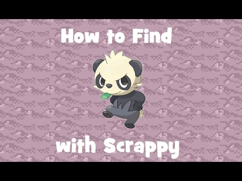 How to Find: Pancham with Scrappy (for Ghost SOS)