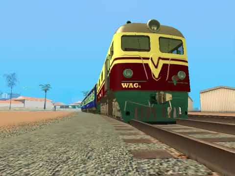Indian Railways WAG4 & AC Coaches - GTA San Andreas