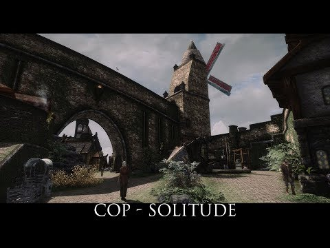 Skyrim SE Mods: Coat of Paint - Solitude