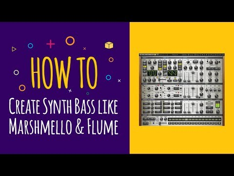 How to Create Future / Trap Synth Bass