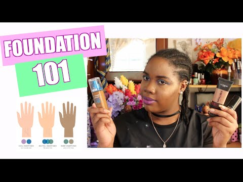 Foundation 101 for beginners undertones,shade matching etc with affordable drugstore options