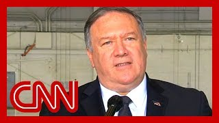 Pompeo: Trump doesn't want war with Iran