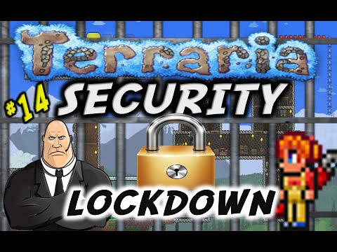 Terraria #14 Security Lockdown (How To Make Traps) PS4/XboxOne