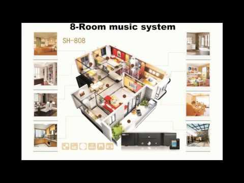 wifi multi room hifi audio system,multi room multi zone audio system,audio system amplifier