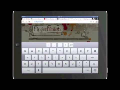 Chrome Browser for iPad Demo