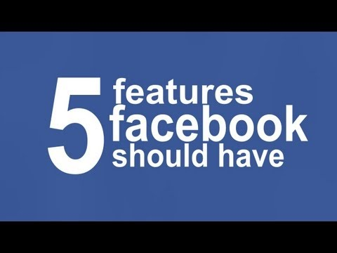 Features facebook should have (2012) - Remove Timeline,Dislike Button and More