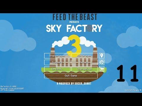 Sky Factory 3 Ep 11, Environmental tech solar, automated tree farm