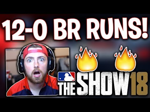 GOING 12-0 IN BATTLE ROYALE! MLB The Show 18   Battle Royale