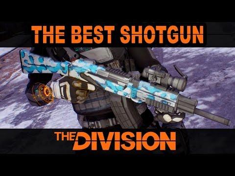 Best Shotgun & Gear Set in The Division | Patch 1.2