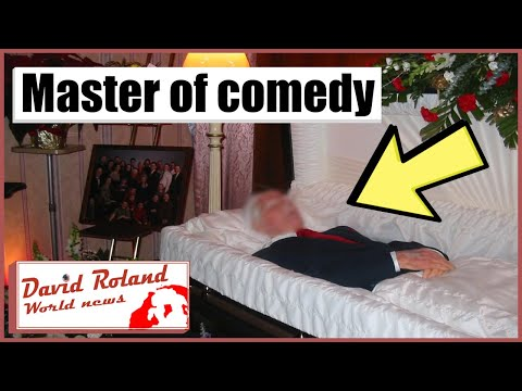 Carl Reiner Funeral (Open-Casket) [HiDef] Master of Comedy passes at a hearty 98.