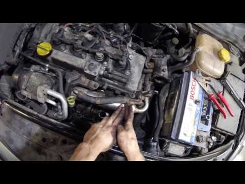 How to remove Turbo DPF EGR removal 1.7 CDTI Vauxhall Astra Corsa Meriva Z17DTH Z17DTL