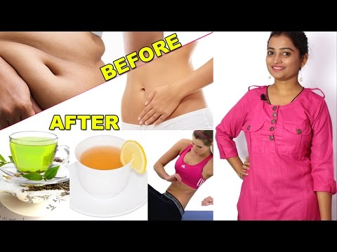 पेट कैसे कम करे | How to Lose Belly Fat in Hindi/Flat Stomach/Natural/Home Remedy/Flat Abs in Week