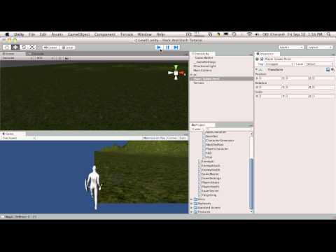 42. Unity3d Tutorial - Player Spawn Point 1/2