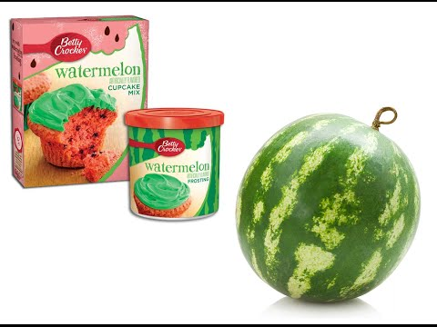 Betty Crocker Limited Edition Watermelon Cake (Review & Tasting)