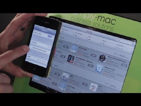 How to Get Wi-Fi on the Go on an iPad : iPad Tips