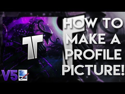 HOW TO MAKE A YOUTUBE PROFILE PICTURE/ICON WITH PAINT.NET - NO PHOTOSHOP REQUIRED FREE & EASY PART 5